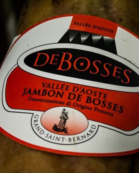 Jambon DOP - Disossato trancio 1,8 kg stagionatura 16 mesi - De Bosses