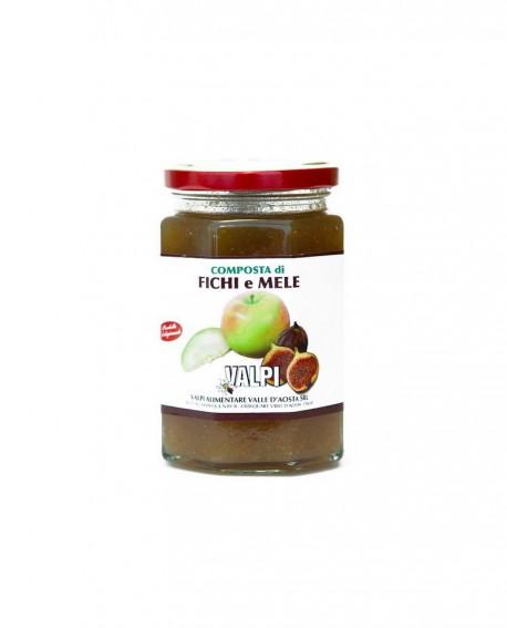 Confettura di fichi e mele 330 g - Valpi