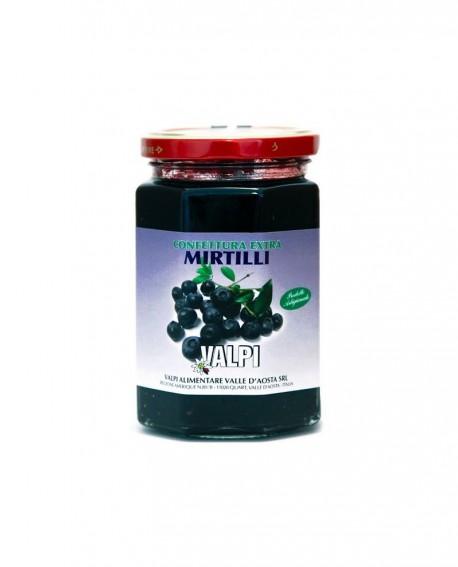 Confettura extra mirtilli 330 g - Valpi
