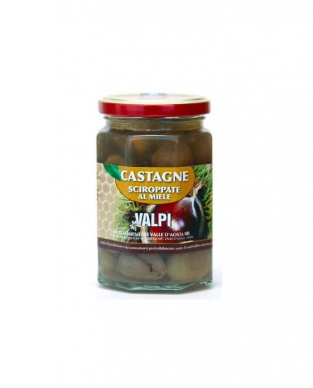 Castagne sciroppate al Miele 850/430 g - Valpi