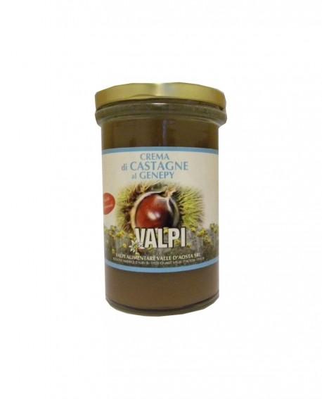 Crema di castagne al genepy 330 g - Valpi