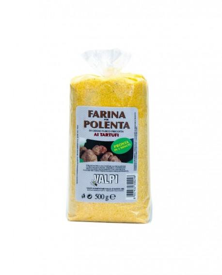Farina per polenta precotta ai tartufi 500 g - Valpi