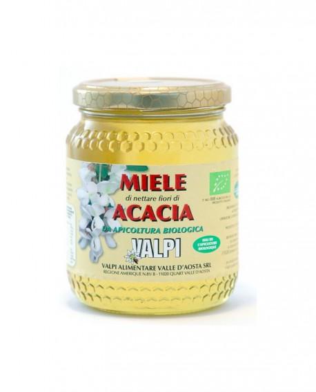Miele biologico acacia Italia 500 g - Valpi