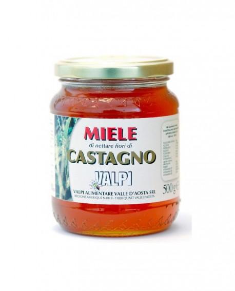 Miele castagno italiano 500 g - Valpi