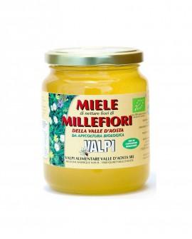 Miele millefiori della Valle d'Aosta biologico 500 g - Valpi