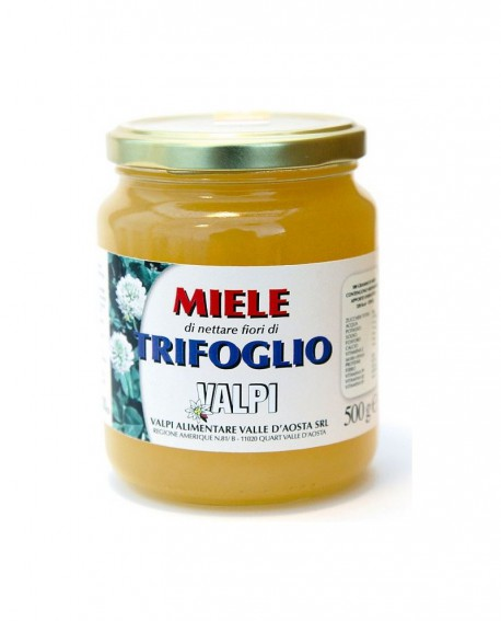 Miele trifoglio italiano 500 g - Valpi
