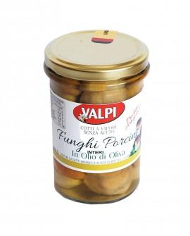Funghi porcini interi sotto olio di oliva 280 g - Valpi