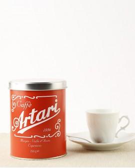 """Caffè Artari 1886 """"Espresso Casa"""" Macinato Latta 250 g"""